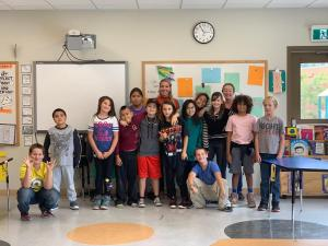 grade 5 and 6 class